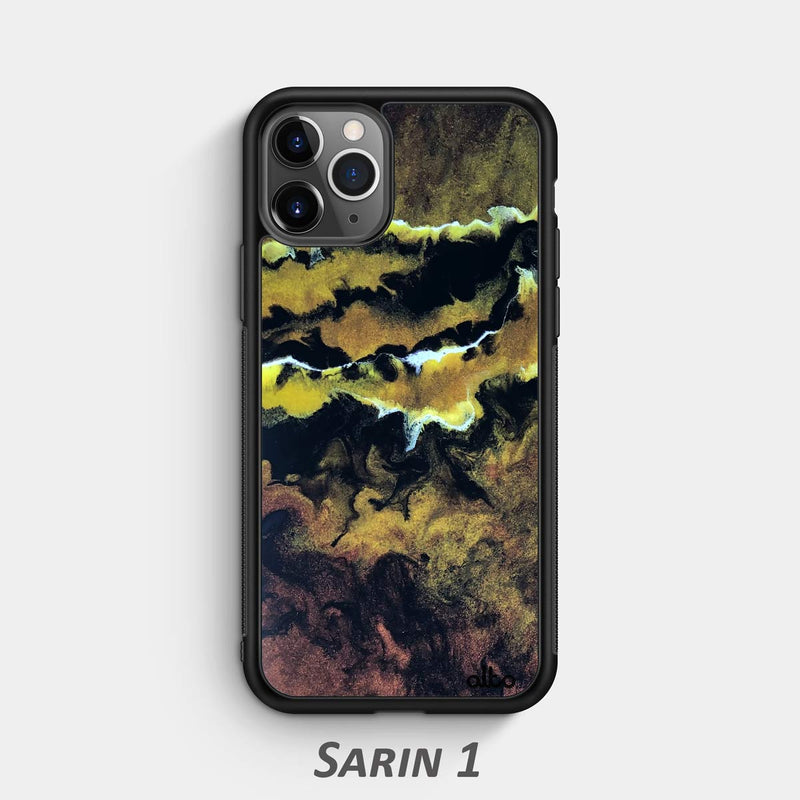 sarin 1 epoxy resin phone cases