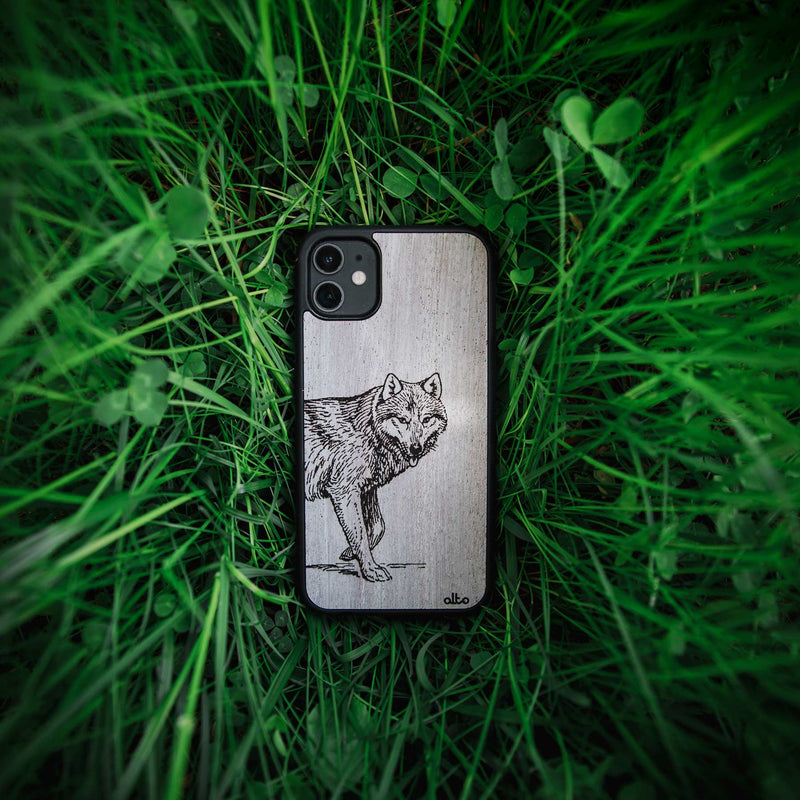 engraved wood phone cases