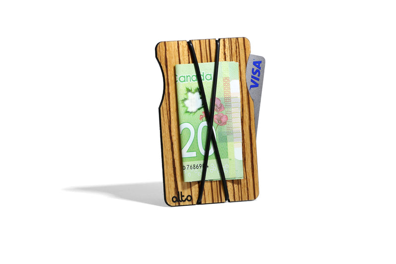 Wood Wallets - X Wallet