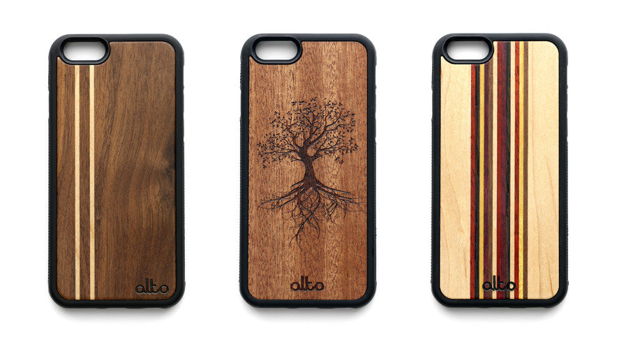 Alto Collective iPhone 6 wood cases