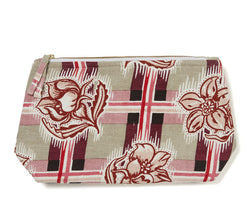 Madras Plum Wash Bag
