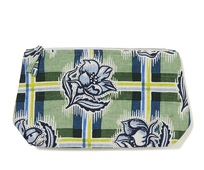 Madras Garden Wash Bag