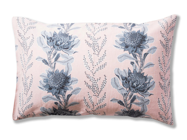 Imperial Waratah Pink Pillowcases