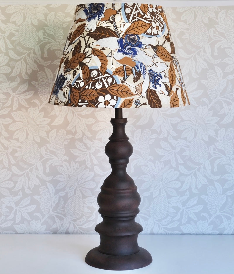 Extra large Italian Metal Lamp and Shade