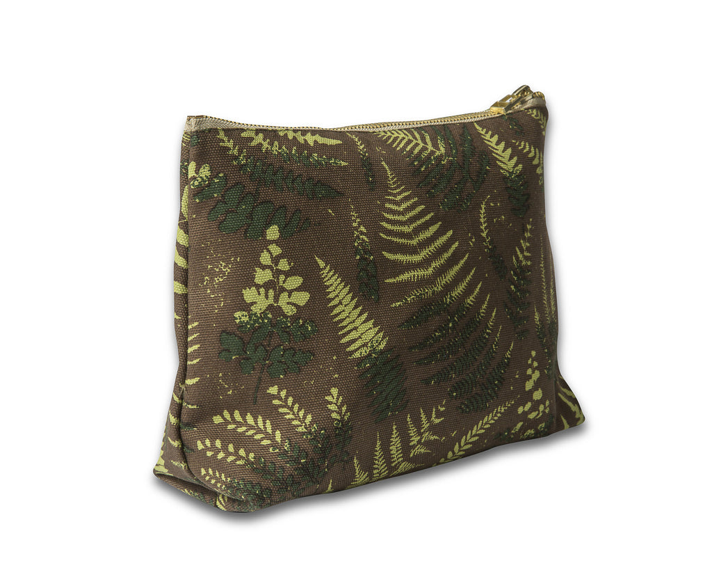 Canvas Wash Bag, Fern - Camo