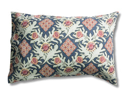Firewheel Trellis Royal Pillowcases