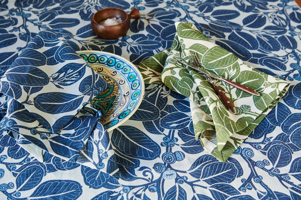 Stringybark Indigo Napkins Set of 2