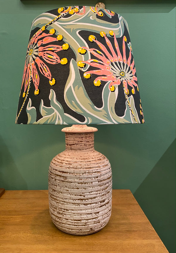 Medium Italian Ceramic Lamp