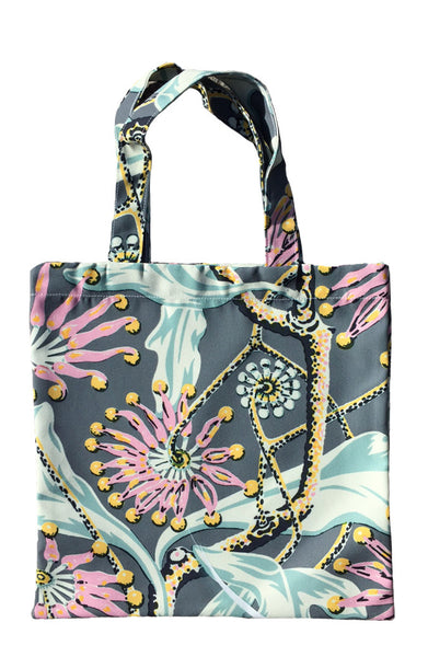 Firewheel Earth Tote - Poly Outdoor Fabric
