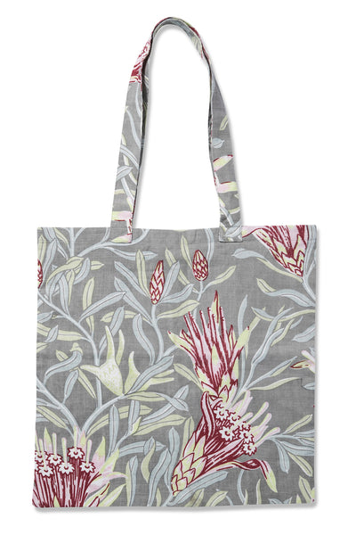 Mountain Devil Garnet Pure Linen Tote Bag