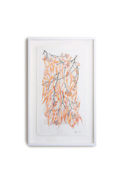 Eucalypt Earth, Acrylic and Pencil on Paper, and Fine Art Giclee Prints