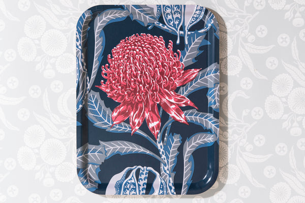 Waratah Heritage Rectangle Tray 30/40cm