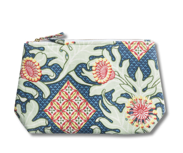 Firewheel Trellis Royal Wash Bag