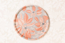 Fig Terracotta Round Tray 38cm