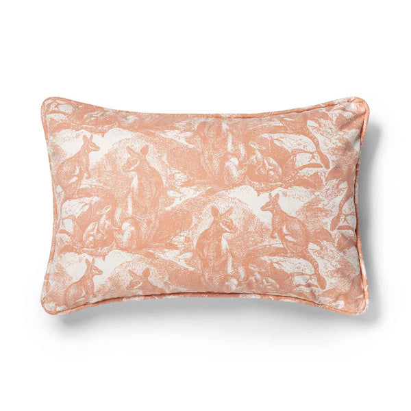 Wallaby Shell Coral 40x 60 Cushion Cover