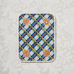 Colourful Chequed Serving Designer Gift Tray
