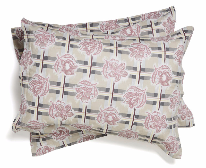 Madras Lilac Pillowcases