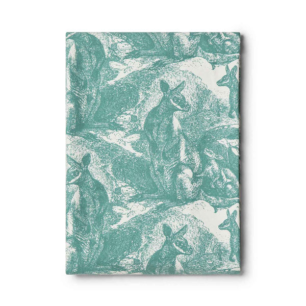 Wallaby Sea Green Tablecloth