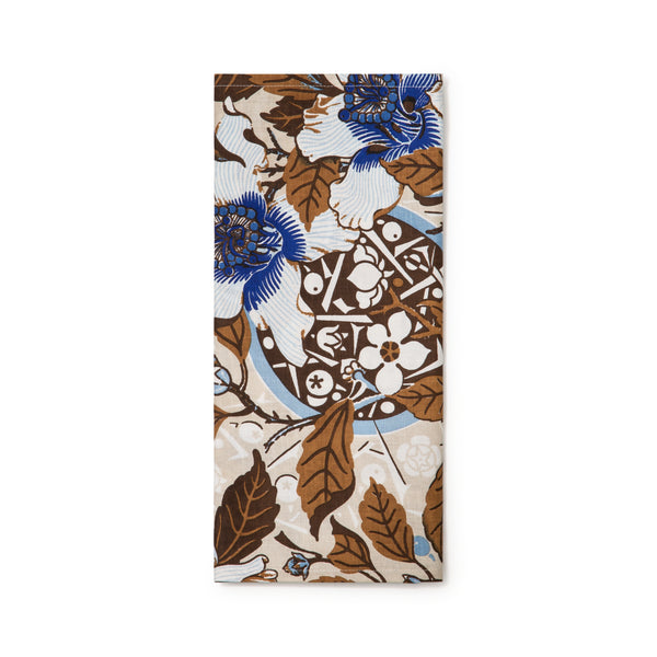 Native Hibisicus Coffee Light Weight Table Runner