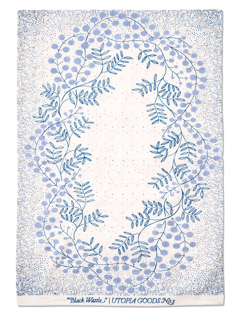 Wattle Tea Towel No.3