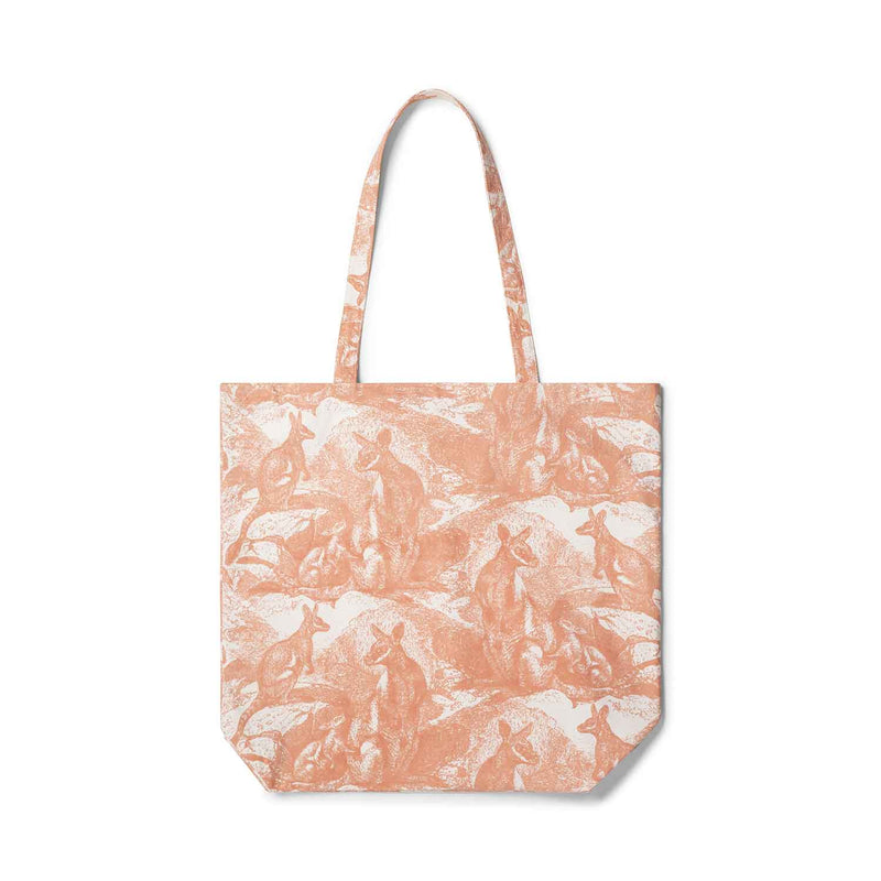 Wallaby Shell Coral Tote Bag