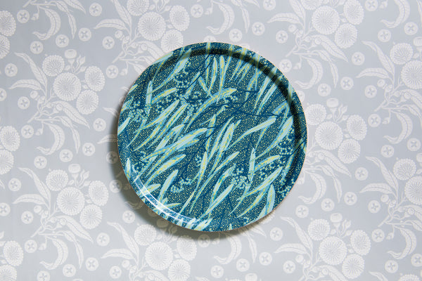 Eucalyptus Night Round Tray