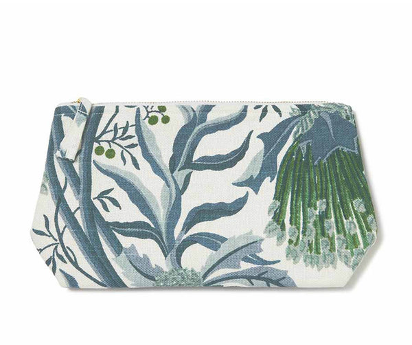 Matchstick Banksia Blue Wash Bag
