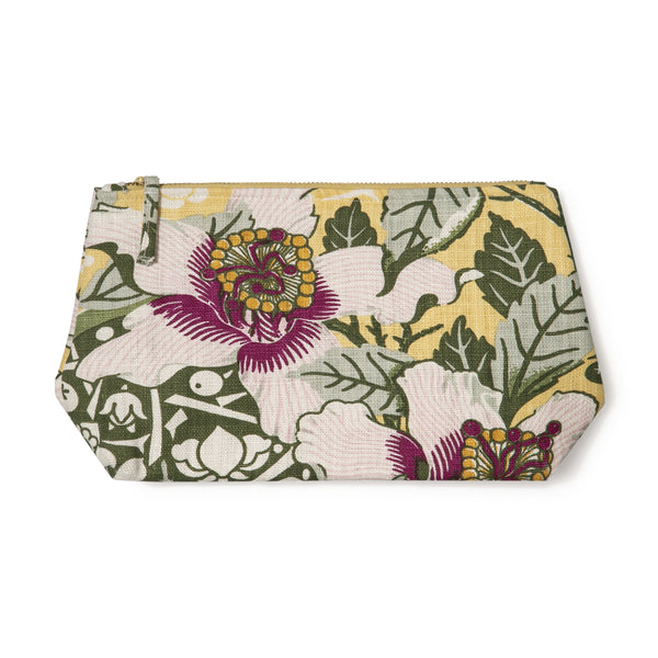 Native Hibiscus Garden Wash Bag