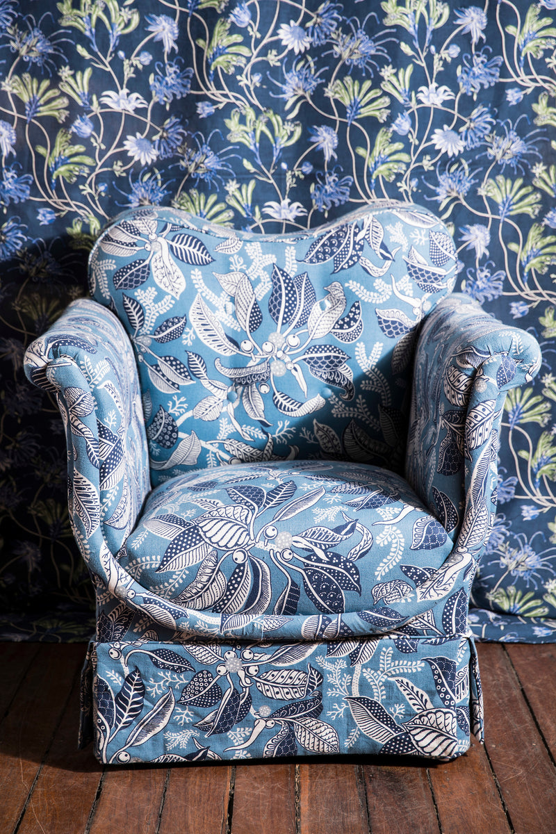 Fig Blue Dali Chair