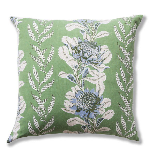 Imperial Waratah Forest Heavy Weight 50x50 Cushion Cover