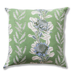 Imperial Waratah Forest Heavy Weight 60x60 Cushion Cover