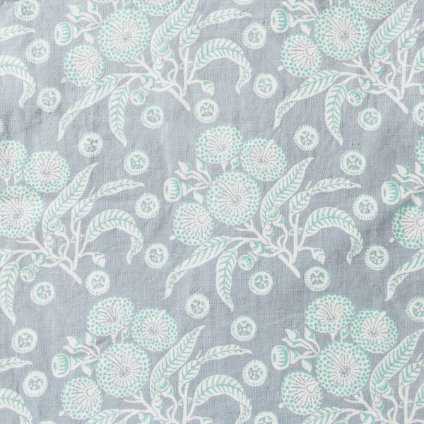 * Native Posy Grey Furnishing Linen