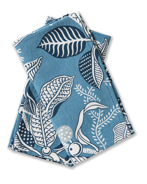 Fig Blue Linen/Cotton Set of 2 Napkins