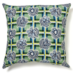 Madras Garden Cushion Cover – 60 x 60