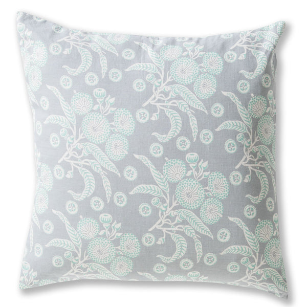Native Posy Grey Cushion Cover – 60 x 60
