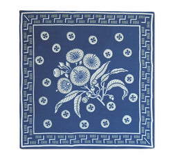 Native Posy Blue Neckerchief