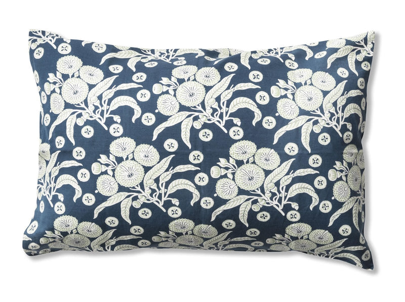 Native Posy Blue Pillowcases