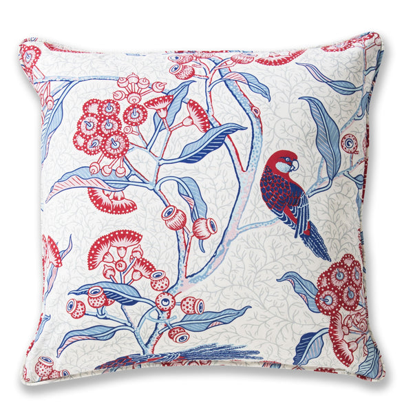 Rosella Red Cushion Cover – 50 x 50