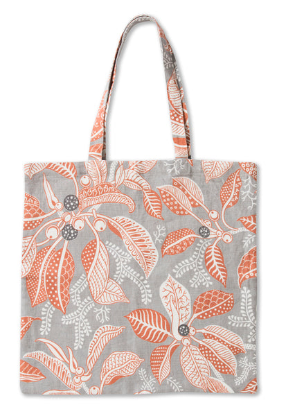 Fig Grey Pure Linen Tote Bag