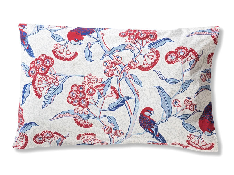 Rosella Red Pillowcases