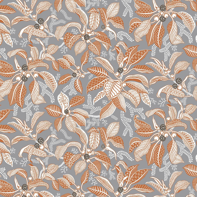 Fig Grey Wallpaper