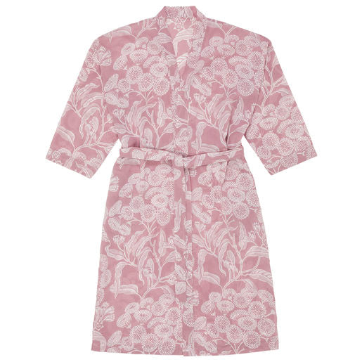 Angophora Pink Voile Robe