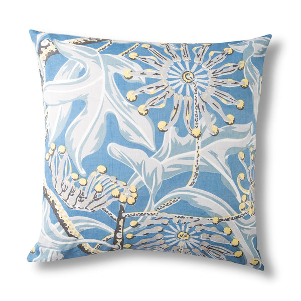 Linen Cushion Cover, Firewheel Sky - 50x50cm