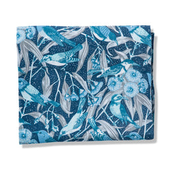 Flowering Gum Blue Tablecloth