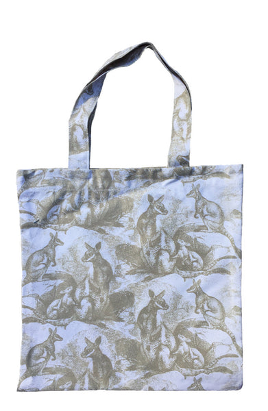 Wallaby Beige Canvas Tote Bag