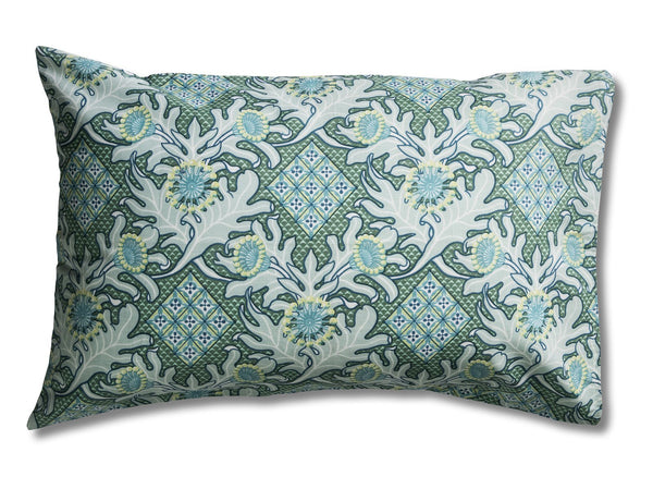 Firewheel Trellis Ocean Pillowcases
