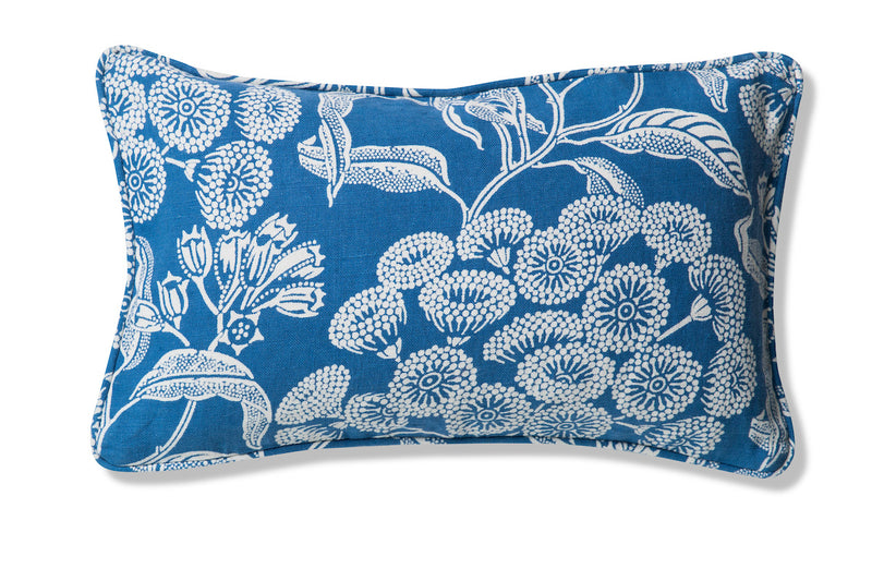Angophora Blue Pure Linen Cushion Cover 30x50