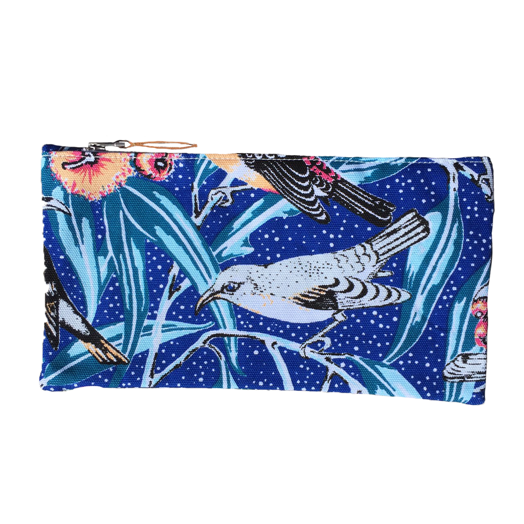 Flowering Gum Tropical Canvas Pouch