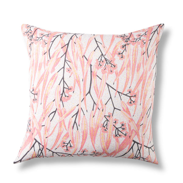 Linen Cushion Cover, Eucalypt Dusk - 50 x 50cm