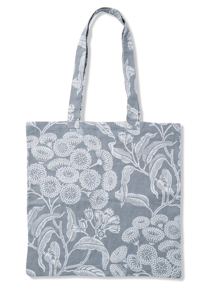 Angophora Grey Pure Linen Tote Bag